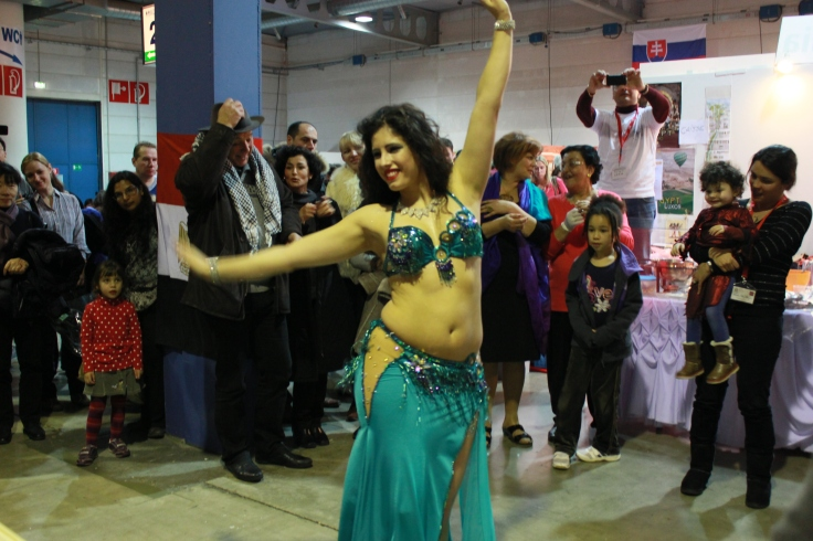 Belly dancer from Azerbaijan.