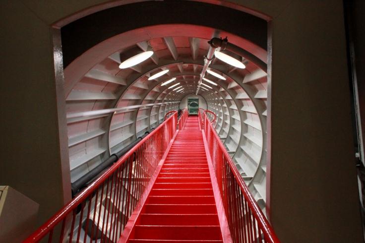Atomium stairs