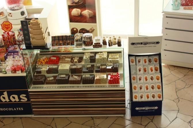 Chocolate shop Atomium