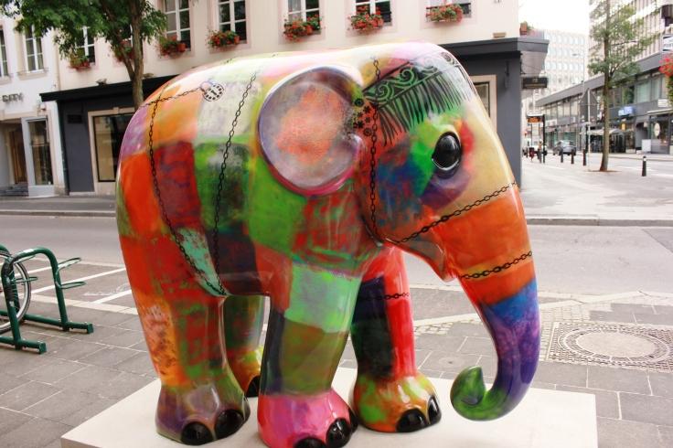 Innocent elephant