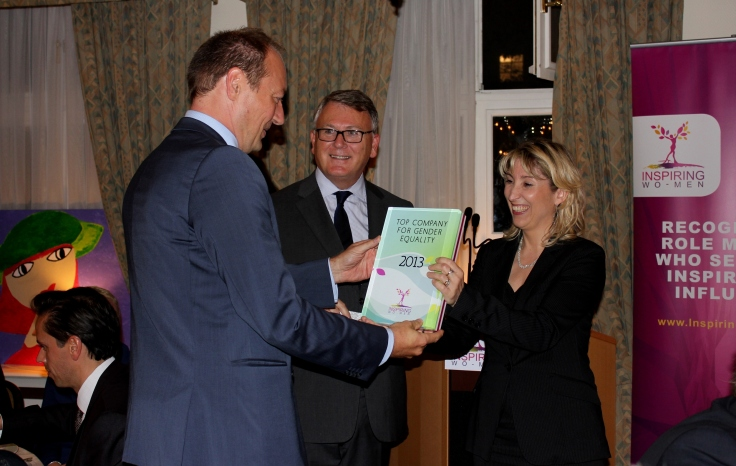 Accenture Luxembourg wins ''Top Company for Gender Equality'' award in 2013