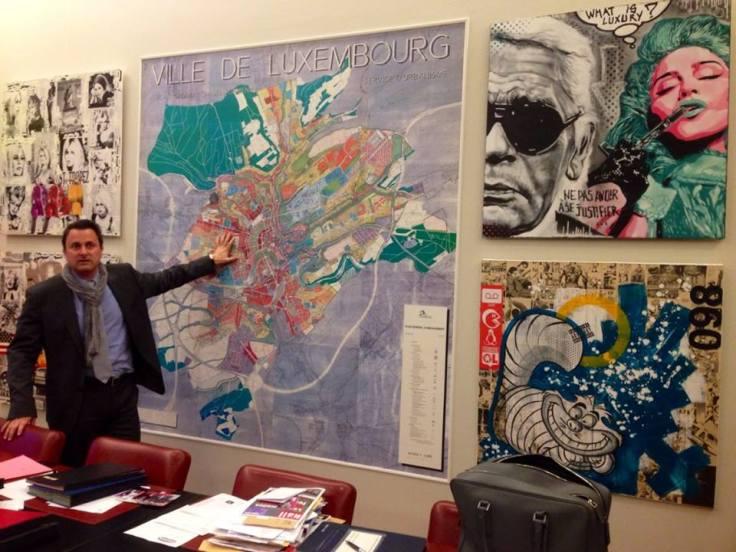 Visit of Xavier Bettel's Office