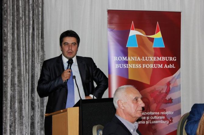 ROMLUX President Razvan-Petru Radu