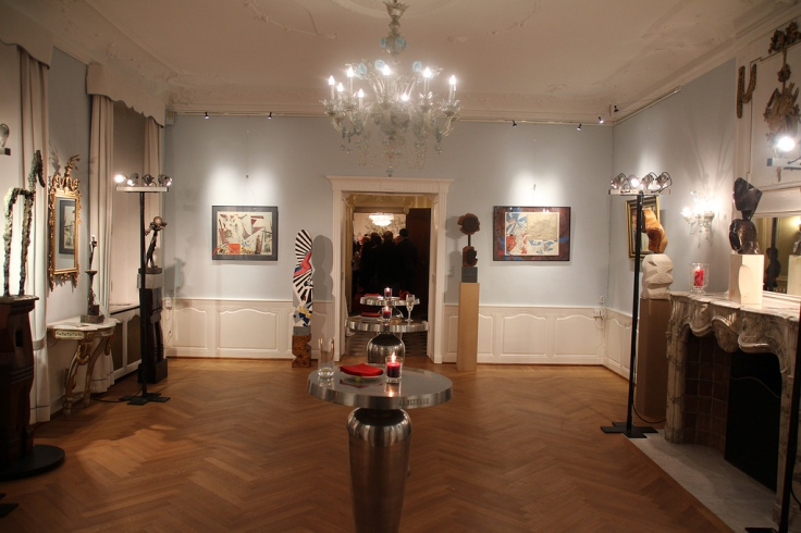The room dedicated to the works of Remus Botarro (Photo: RomLux)