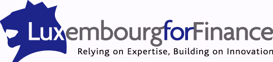 The logo of Luxembourg for Finance