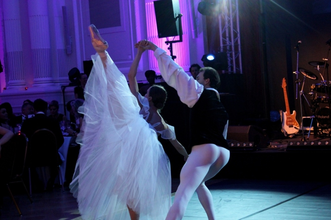 Ballet @ Russian Charity Ball Luxembourg