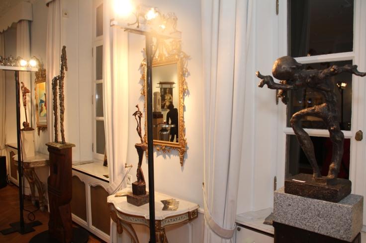Works by Remus Botarro were on display (Photo: RomLux)