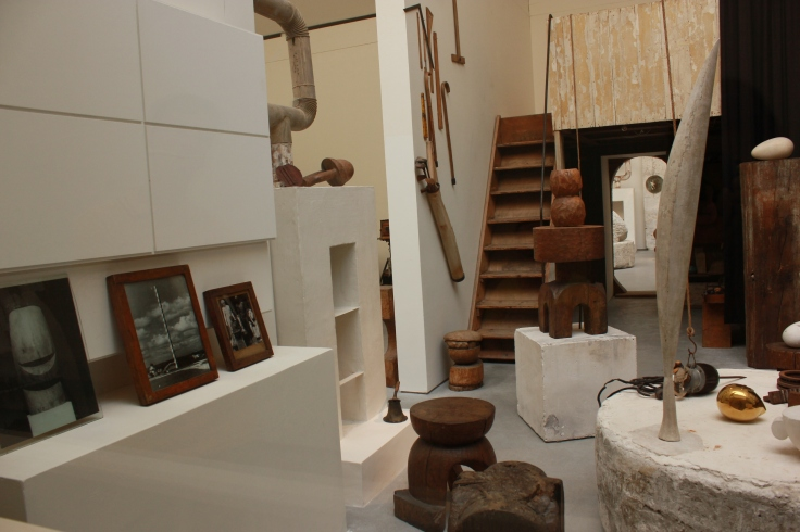 Inside Brancusi's workshop in Paris