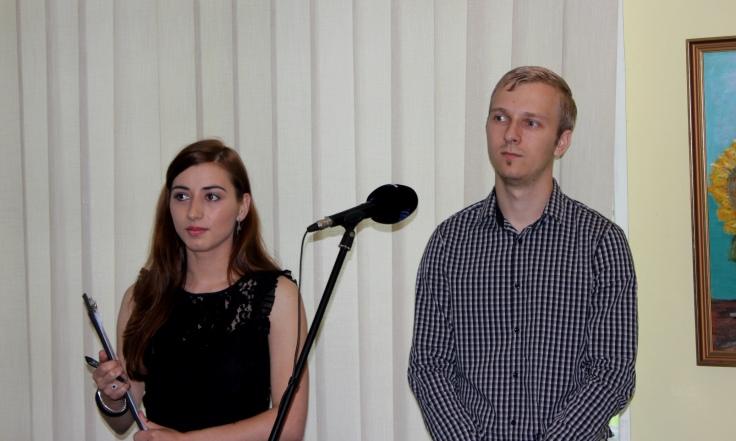 Initiatorii proiectului: Roxana Mironescu si Cristian Ona