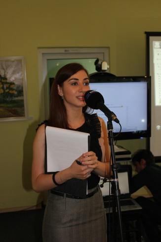 Roxana Mironescu, initiatoarea si coordonatoarea proiectului Intalnire cu Occidentul