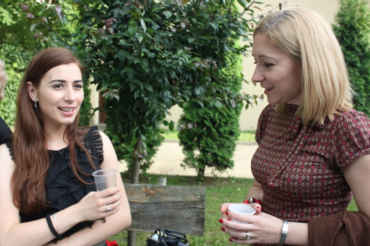 Roxana Mironescu si Crina Voinaghi