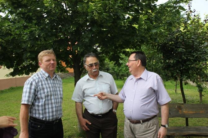 Marin Ilies, Pro-Decan UBB, Toma Mironescu, profesor engleza-franceza, Dorel Todea, Director Radio Sighet