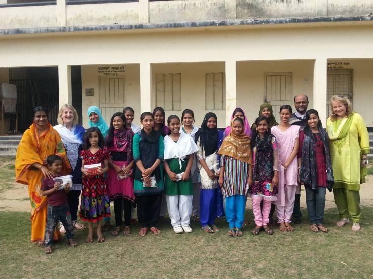 Group Photos at Syed Hatim Ali School