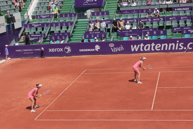 Women's doubles final BRD Bucharest Open 2014