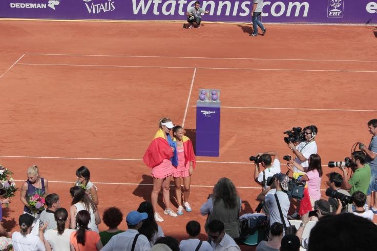 Romanian team wins women's doubles final at BRD Bucharest Open 2014