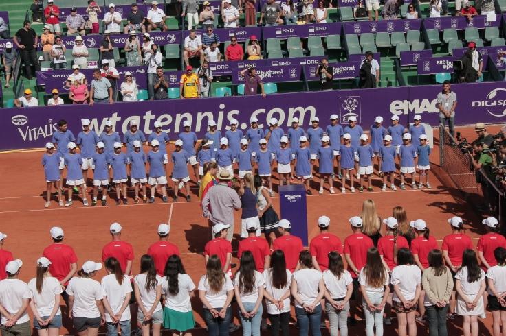 Alexandra Cadantu and Elena Bogdan win women's doubles final at BRD Bucharest Open 2014