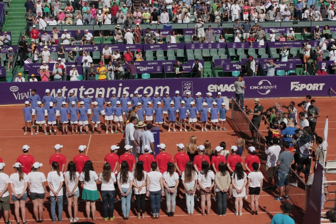 BRD Bucharest Open  women's doubles finals