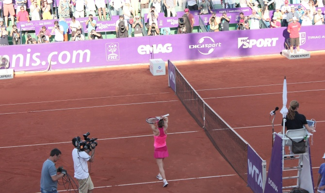Simona Halep wins Brd Bucharest Open 2014 title