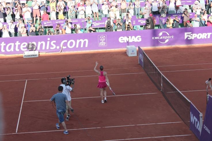 Simona Halep wins BRD Bucharest Open 2014