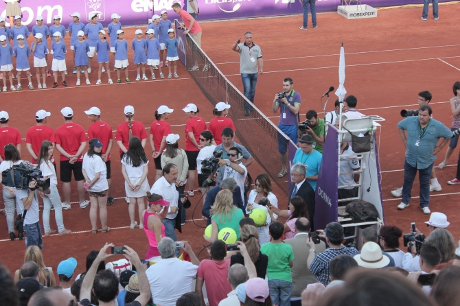 Simona Halep winner of the tournament in Bucharest
