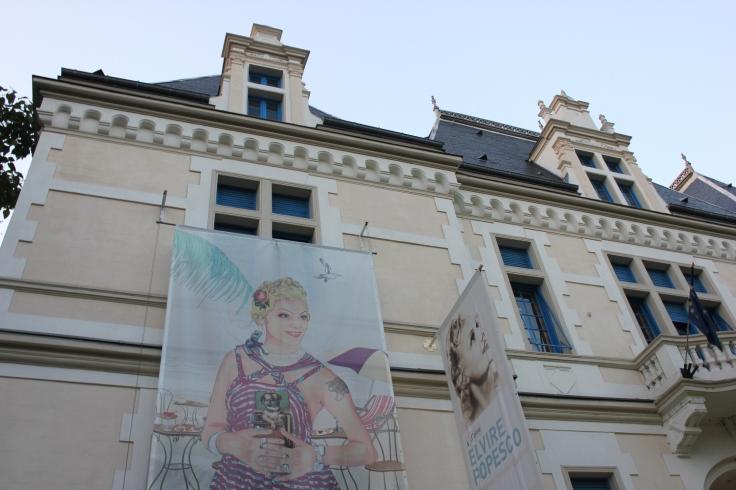 An historic building on Dacia Boulevard is home to the Institut Français de Roumanie
