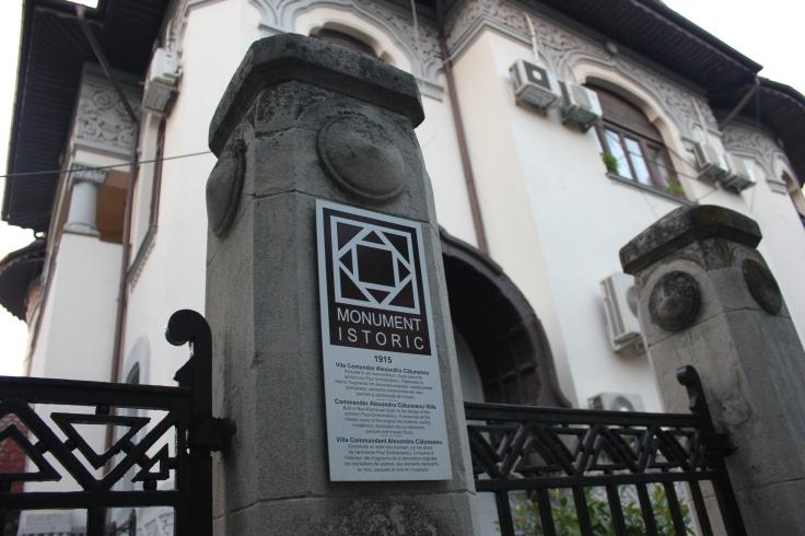 Commander Alexandru Catunean Villa was built in 1915