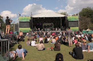 GreenSounds Music Festival in Herastrau Park