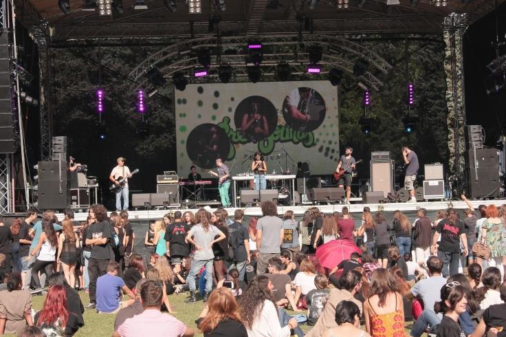 GreenSounds 2014 Music Festival in Herastrau Park
