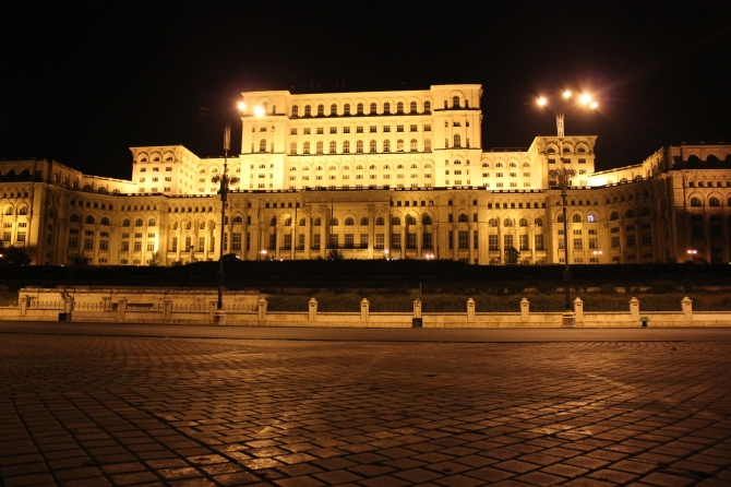 The Palace of the Parliament in Bucharest is the city's main attraction for tourists.
