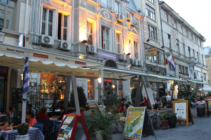 Old Town Lipscani in Bucharest