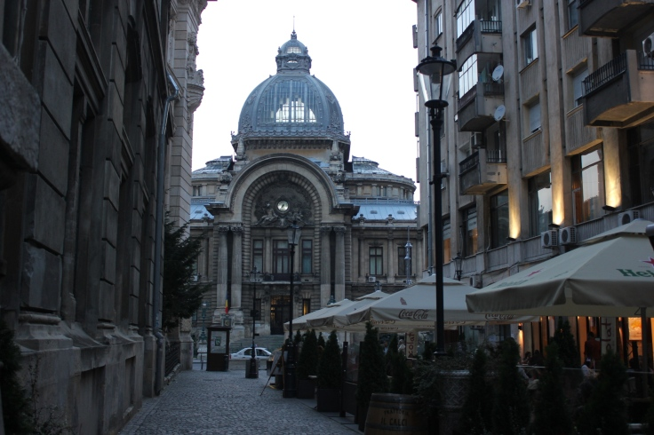The CEC Palace in Bucharest
