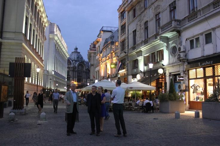 Bucharest Old Town Lipscani