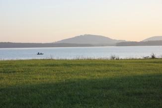 Lac de la Madine in Lorraine, France