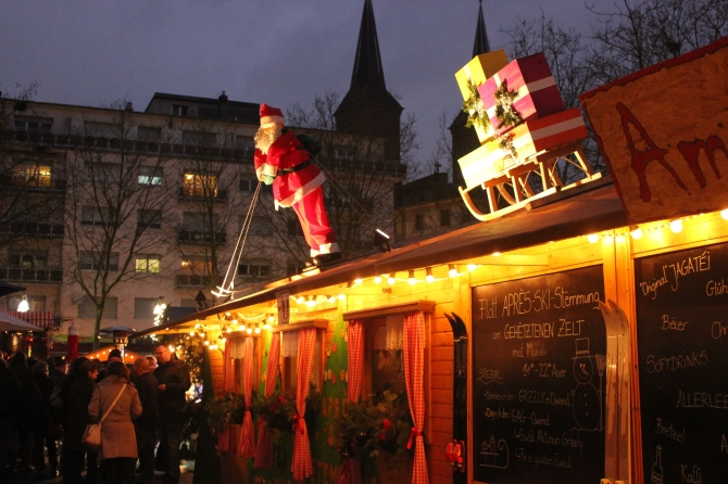 Christmas Market 2014 in Dudelange