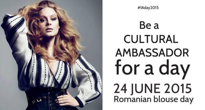 Be a cultural ambassador