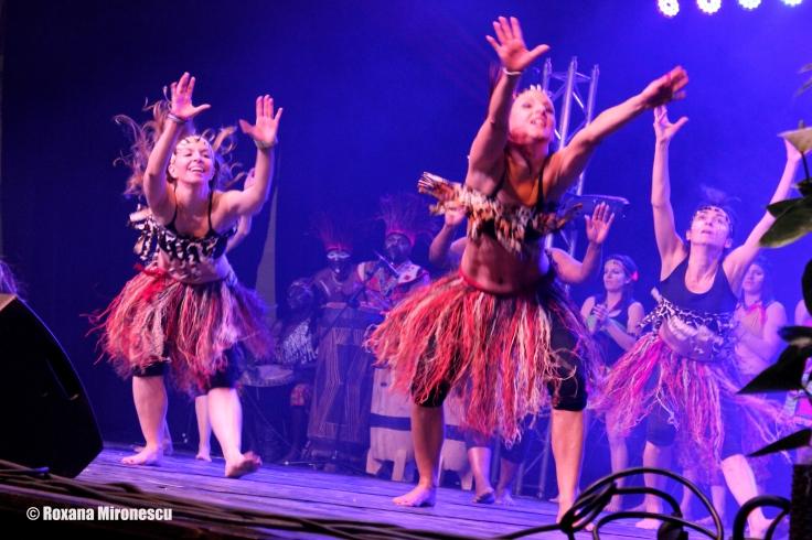 African dancing 2 at Migration Festival