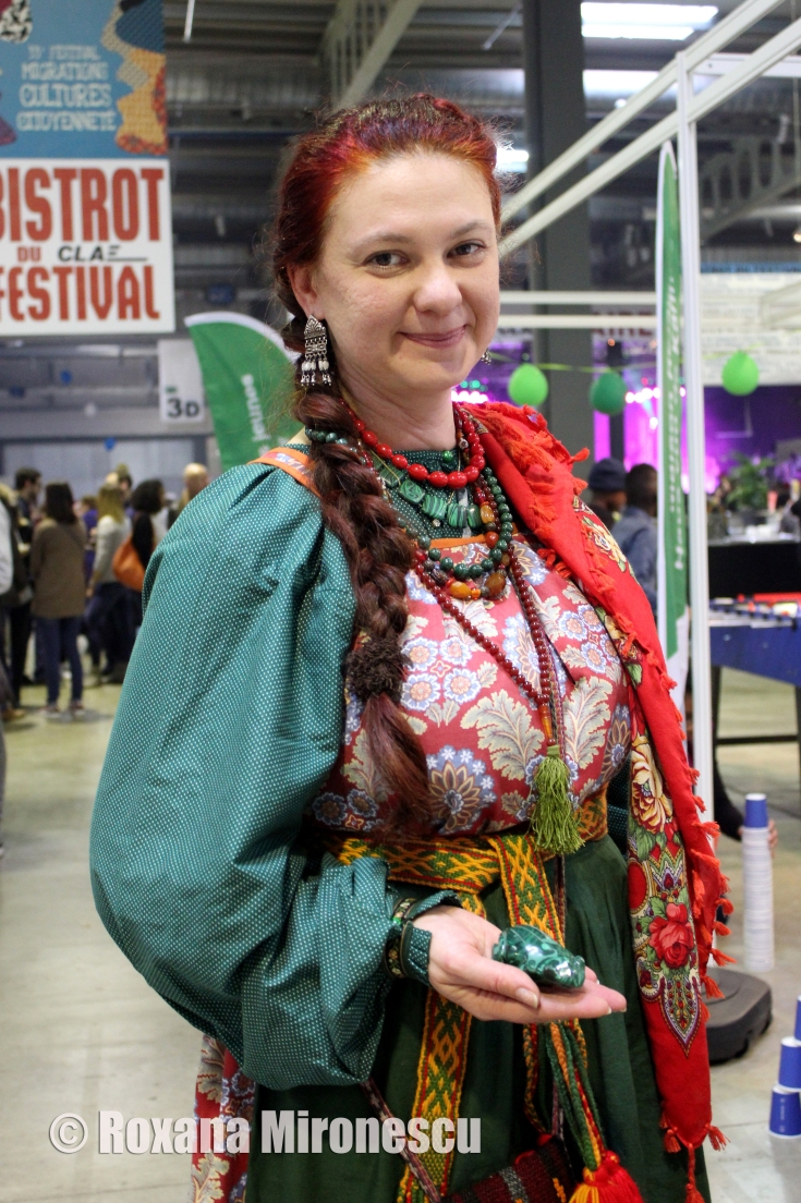 Russian Woman from Ural at Migration Festival