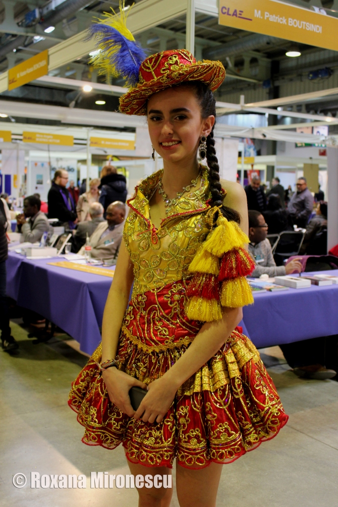 Young Woman from Ecuador at Migration Festival 2