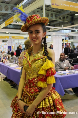 Young Woman from Ecuador at Migration Festival