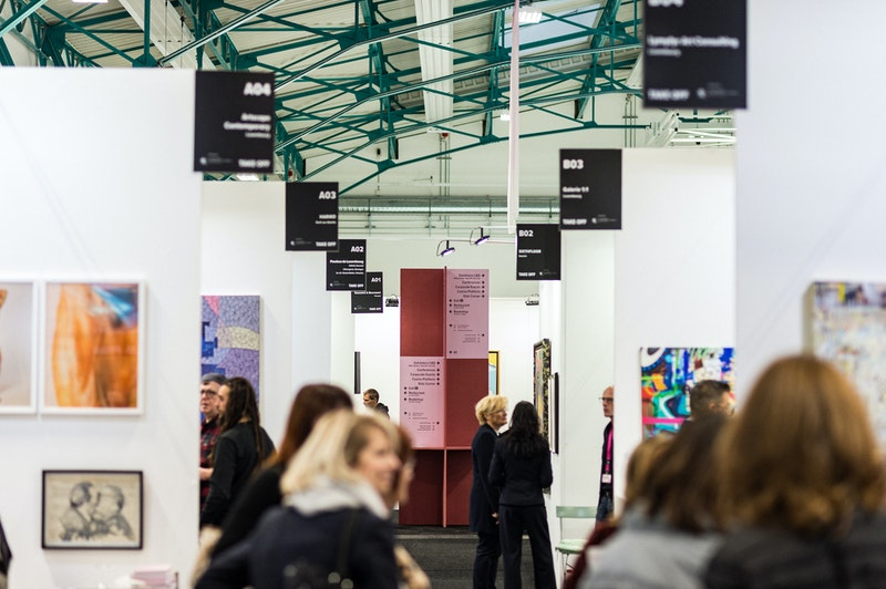 At the 2019 edition of the Luxembourg Art Week, photo rights by event organisers