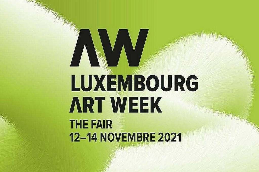 Official Banner of the Luxembourg Art Week 2021, photo rights by event organisers